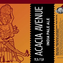 "INDIA PALE ALE ""ACACIA AVENUE""."